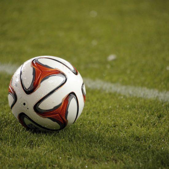football pitch marking