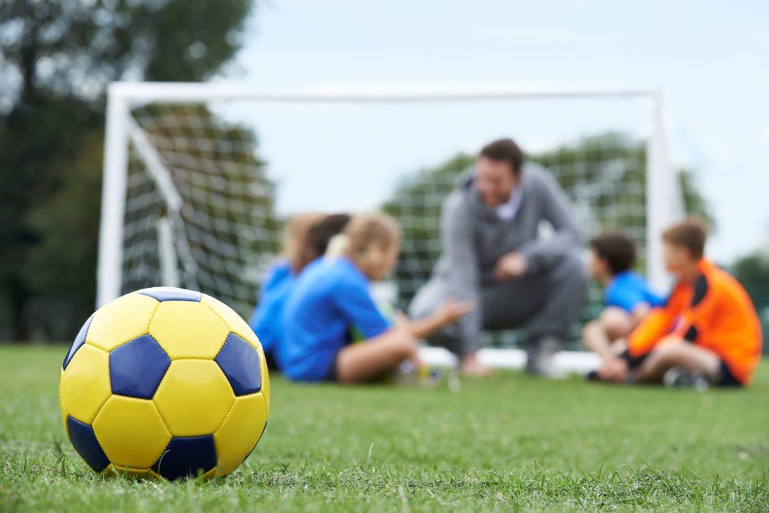 team with coach