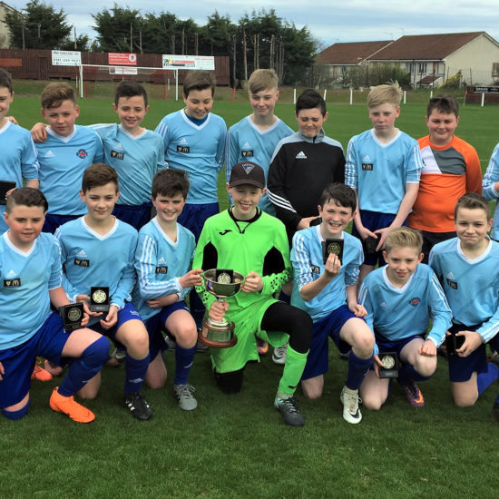 LMYFC 2005 Persevere Cup 2018 winning team