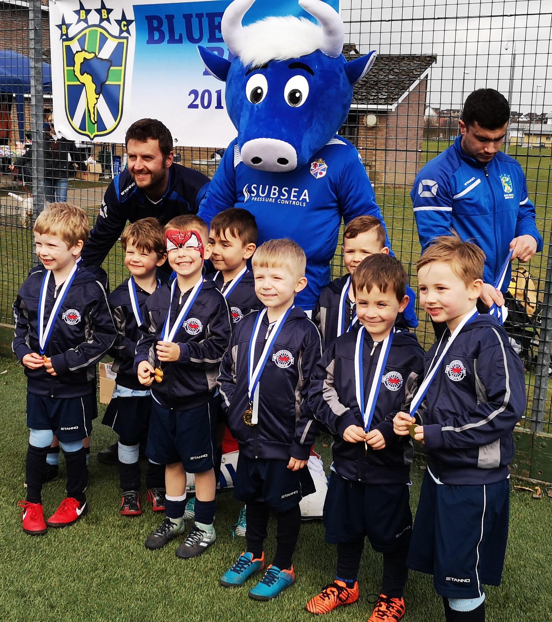 LMYFC 2012s Cowdenbeath Tournament Medals